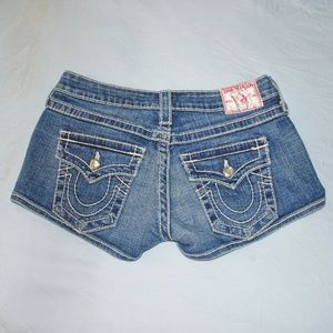 TRUE RELIGION Cheeky Shorts